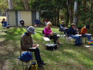 Plein Air Group - Members (untutored) @ Different venue each week. Contact Convenor for details