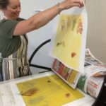 Monoprinting workshop 2019