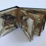 'Intimate details' - Anita Mangakahia - Original - Traditionally bound - artist book- Eco print