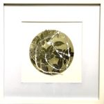 redland yurara art society - art for sale - 'Leaf n Lace' - Anita Mangakahia - Framed- original - Botanical Oil Monoprint