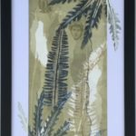 redland yurara art society - art for sale - 'A Crack in Time'- Anita Mangakahia - Framed - Original Oil monoprint