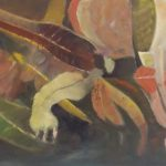 redland yurara art society - autumn exhibition - leaves - painting 'Colourful Foliage' Bernie Dawson - oil