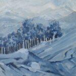 Redland Yurara Art Society - 'Tru Blu' - Gloria Dietz-Kiebron - Acrylic - Painting - Shades of Blue