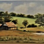 Redland Yurara Art Society - 'Australiana' - Christine Pugh - Oil on canvas - Painting - Art Exhibition - Outback Australia