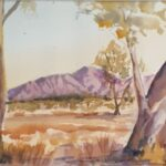 Redland Yurara Art Society -Flinders Ranges - Philip Van Niekerk -Watercolour - Painting - Art Exhibition - Outback Australia