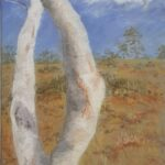 Redland Yurara Art Society - 'Sunburnt Country' - Jacqui Selke-Pike - Pastel - Framed - Painting - Art Exhibition - Outback Australia