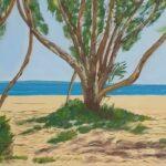 Redland Yurara Art Society - 'Home Beach' -Arja Tossavainen - Oil - Painting - Art Exhibition - Seascapes and Beach