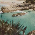 Redland Yurara Art Society - 'Little Gorge, Stradbroke Island' - Helen Boydell - Photo - Framed - Art Exhibition - Seascapes and Beaches