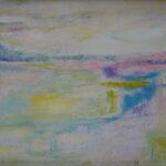 Redland Yurara Art Society - 'Morning Dream' - Georgie Usher - NFS - Acrylic - Painting - Art Exhibition - Seascapes and Beaches