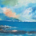 Redland Yurara Art Society - 'Ocean View' - Gloria Dietz-Kiebron - Acrylic - Painting - Art Exhibition - Seascapes and Beaches
