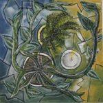 redland yurara art society - yurara youth art awards - YYAA 2020 - art exhibition - art competition - 'Abstract Still Life'-Kelsey Tregear -Cleveland District State High School -Acrylic on Canvas