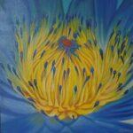 Redland Yurara Art Society - 'Australian Flora' - Mila Rush - Oil - Painting - Art Exhibition - Major Spring Art Exhibition