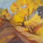 Redland Yurara Art Society - 'Autumn Bright, Vic' - Pam Maccoll - Oil - Painting - Art Exhibition - Major Spring Art Exhibition