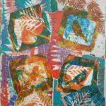 Redland Yurara Art Society - 'Bird Song' -Helen Boydell - Mixed Media - Painting - Art Exhibition - Major Spring Art Exhibition