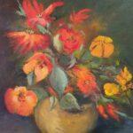 Redland Yurara Art Society - 'Bowl of Joy' -Bernie Dawson - Oil - Painting - Art Exhibition - Major Spring Art Exhibition
