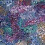 redland yurara art society - yurara youth art awards - YYAA 2020 - art exhibition - art competition - 'Coral Reef'- Hannah Buick - Cleveland District State High School - Acrylic on Canvas