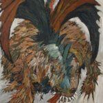 Redland Yurara Art Society - 'Draken' - Robin Wilson - Acrylic - Painting - Art Exhibition - Major Spring Art Exhibition
