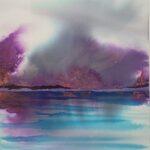 Redland Yurara Art Society - 'Fire Twenty NIneteen' - Kathryn Christensen - Ink - Painting - Art Exhibition - Major Spring Art Exhibition