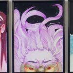 redland yurara art society - yurara youth art awards - YYAA 2020 - art exhibition - art competition - 'Fragments' - Trinity Millar - Victoria Point State Highschool -Watercolour