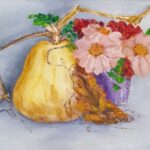 Redland Yurara Art Society - 'Garden Fresh' - Mary Kirkby - Oil - Painting - Art Exhibition - Major Spring Art Exhibition
