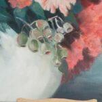 Redland Yurara Art Society - 'Gumnuts' - Pam Maccoll - Oil - Painting - Art Exhibition - Major Spring Art Exhibition