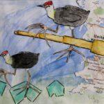 redland yurara art society - yurara youth art awards - YYAA 2020 - art exhibition - art competition - 'Journey Through the Lens' - Nick Leaning -Ormiston College -Watercolour -Charcoal