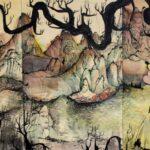 redland yurara art society - yurara youth art awards - YYAA 2020 - art exhibition - art competition - 'Mindful fortification of Ancestors' - Jaymee Vo - Ormiston College - Acrylic on Wood