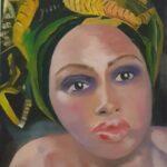 Redland Yurara Art Society - 'Monique' - Louise Harrison - Oil - Painting - Art Exhibition - Major Spring Art Exhibition