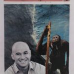 redland yurara art society - yurara youth art awards - YYAA 2020 - art exhibition - art competition - 'Monky' - Ryan Warburton - Cleveland District State High School -Collage