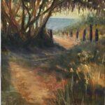 Redland Yurara Art Society - 'Morning has Broken, Lennox Head' - Gillian Goldsworthy - Pastel - Painting - Art Exhibition - Major Spring Art Exhibition