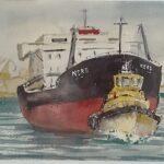 Redland Yurara Art Society - 'Nearly There' - Philip Van Niekerk - Watercolour - Painting - Art Exhibition - Major Spring Art Exhibition