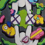 redland yurara art society - yurara youth art awards - YYAA 2020 - art exhibition - art competition - 'Order in Chaos' -Carlos Santiago Johnson - Cleveland District State High School