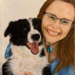 redland yurara art society - yurara youth art awards - YYAA 2020 - art competition - art exhibition - drawing - 'Pure Happiness' - Tillie Moyle - Moreton Bay College - Pastel