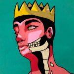 redland yurara art society - yurara youth art awards - YYAA 2020 - art exhibition - art competition - 'Queen and Her Crown' - Mia Ryles -Tania's Arthouse - Acrylic