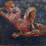 Redland Yurara Art Society -'Reclining Model' - Robert Grant - Oil - Painting - Art Exhibition - Major Spring Art Exhibition