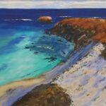 Redland Yurara Art Society - 'Rottnest Island' - Ray Hackett - Oil - Painting - Art Exhibition - Major Spring Art Exhibition
