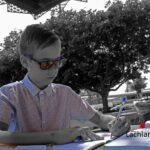 redland yurara art society - yurara youth art awards - YYAA 2020 - art exhibition - art competition - 'School Boy' - Lachlan Rogers -Ormiston College -Digital