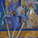 Redland Yurara Art Society - 'Shine your Light' - Wendy Duff - Mixed Media - Painting - Art Exhibition - Major Spring Art Exhibition