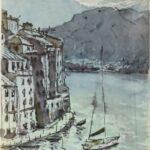 Redland Yurara Art Society - 'Somewhere in Italy' - Evelyn Kerlin - Painting - Art Exhibition - Major Spring Art Exhibition