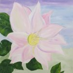 Redland Yurara Art Society - 'Spring Flower' - Mary Jane Turk - Acrylic - Painting - Art Exhibition - Major Spring Art Exhibition