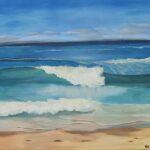 Redland Yurara Art Society - 'Stradbroke Island' - Val Turner - Acrylic - Painting - Art Exhibition - Major Spring Art Exhibition