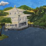 redland yurara art society - yurara youth art awards - YYAA 2020 - art exhibition - art competition - 'Tempul' - Ryan Warburton - Cleveland District State High School -Acrylic