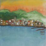 Redland Yurara Art Society - 'The Calm' - Rosie Sheehan - Acrylic - Painting - Art Exhibition - Major Spring Art Exhibition