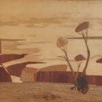 Redland Yurara Art Society - 'The Hidden Gorge, Wittenoom, WA' - Mary Kirkby - Wood - Wood Art - Art Exhibition - Major Spring Art Exhibition