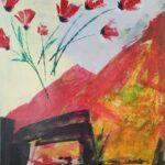 Redland Yurara Art Society - 'The Valley of the Red Tulips' - Viga Misztal - Acrylic - Painting - Art Exhibition - Major Spring Art Exhibition