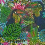 Redland Yurara Art Society - 'Toucan Paradise' - Anna McCallum - Mixed Media - Painting - Art Exhibition - Major Spring Art Exhibition