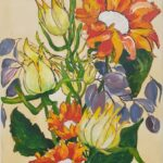 Redland Yurara Art Society - 'Towards the Sun' - Eunice King - Acrylic - Painting - Art Exhibition - Major Spring Art Exhibition