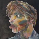 redland yurara art society - yurara youth art awards - YYAA 2020 - art exhibition - art competition - 'Under the Influence' - Ruairi O'Brien - Cleveland District State High School - Acrylic