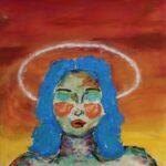 redland yurara art society - yurara youth art awards - YYAA 2020 - art exhibition - art competition - 'Victorious'- Gwen Phillips - Cleveland District State High School - Acrylic