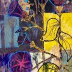 Redland Yurara Art Society - 'Weeds' - Sharon John - Mixed Media - Painting - Art Exhibition - Major Spring Art Exhibition